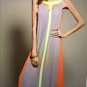 Dresses & Skirts - Color Block Maxi